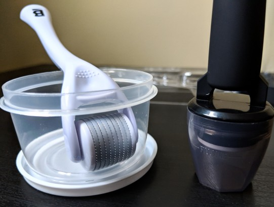 cleaning cup vs. cap
